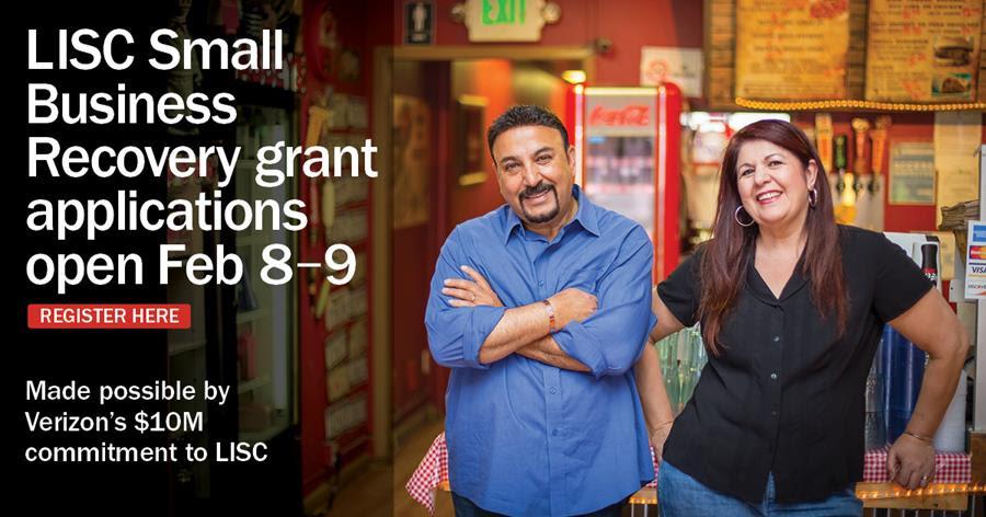 Verizon and LISC Grants